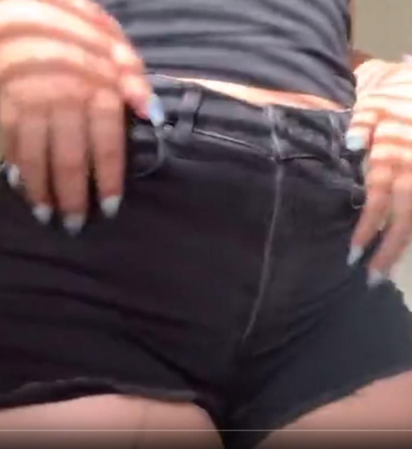 ASMR抓粗斜纹棉布牛仔裤ASMRbyK